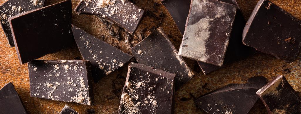 chocolate closeup