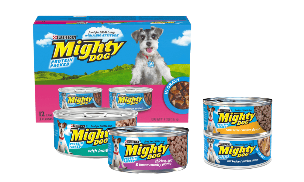 purina migty dog products