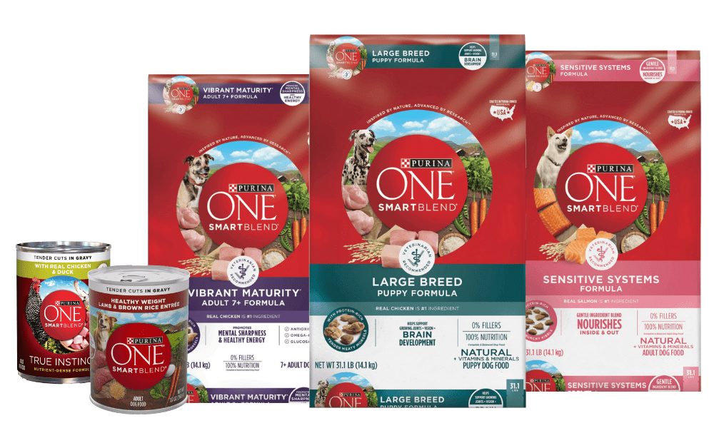This image has an empty alt attribute; its file name is purina-one-products.png