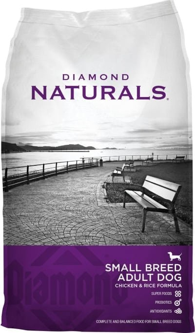 Diamond Naturals Small Breed Adult Food Chicken