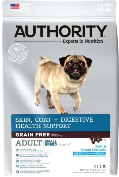Authority Skin Coat & Digestive Health Small Breed Adult