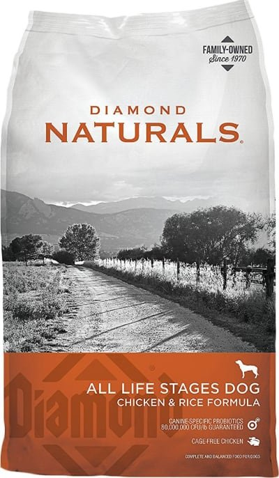 Diamond Naturals Chicken Rice All Life Stages