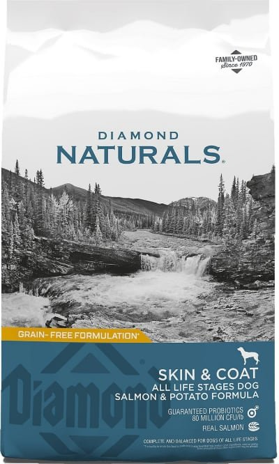 Diamond Naturals Skin & Coat Formula All Life Stages
