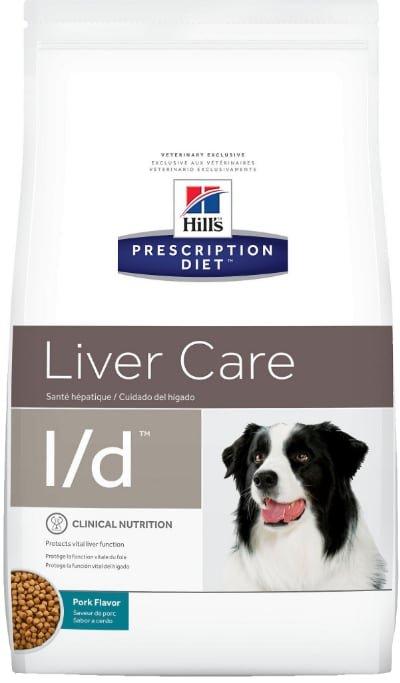 Hills Prescription Diet ld Liver Care Pork