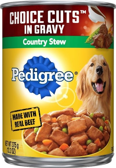 Pedigree Choice Cuts in Gravy Country Stew Canned