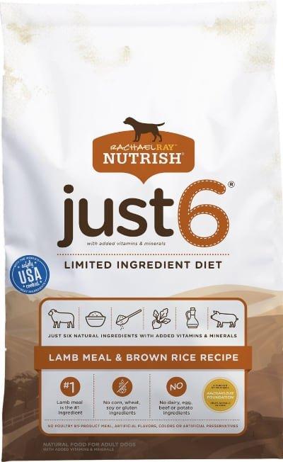 Rachael Ray Nutrish Just 6 Natural Lamb