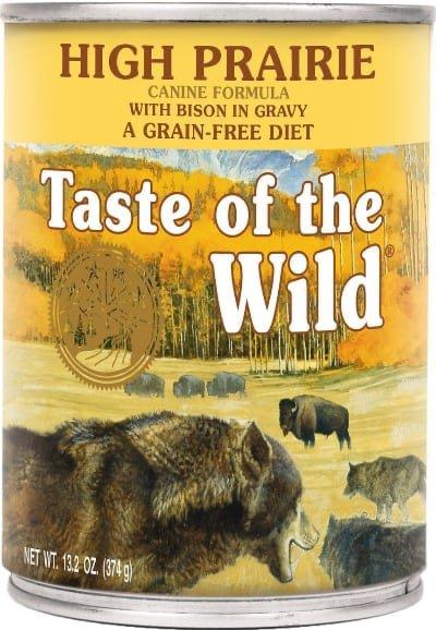 Taste of the Wild High Prairie Canned Bison