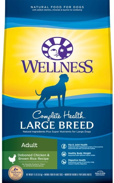 Wellness Large Breed Complete Health Adult Chicken