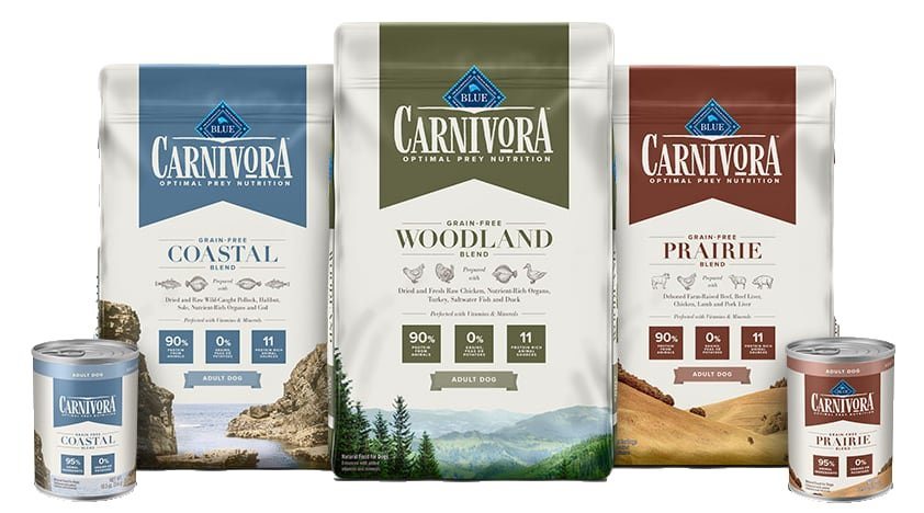 blue buffalo carnivora products