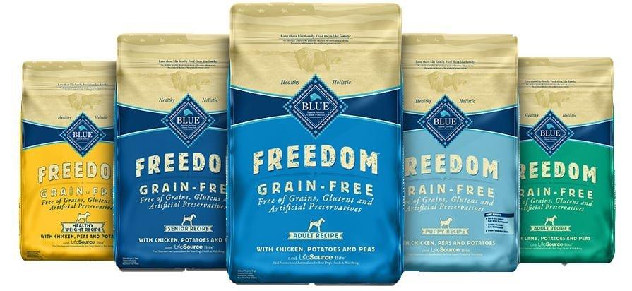 blue buffalo freedom products