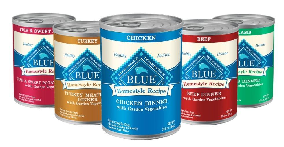 blue buffalo homestyle recipe products