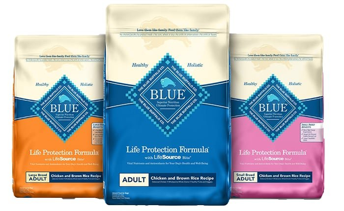 blue buffalo life protection products