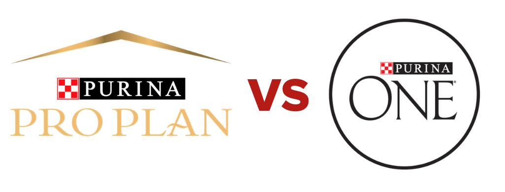 purina one vs purina pro plan