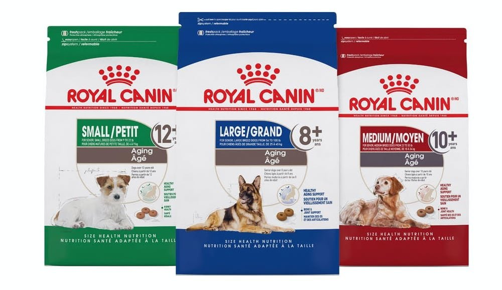 royal canin size health nutrition aging