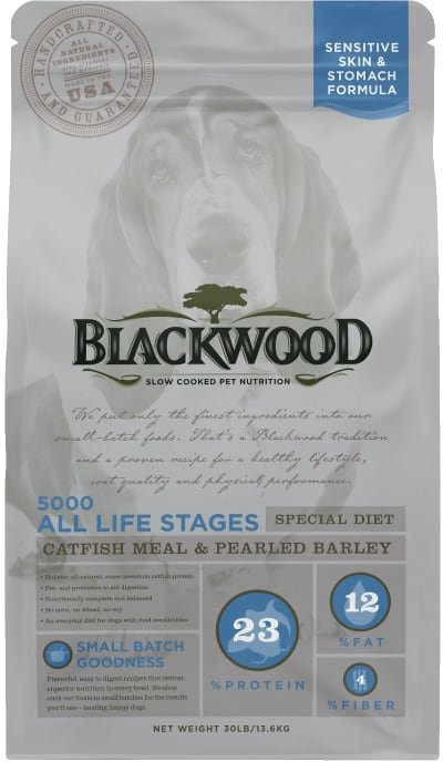 Blackwood 5000 Catfish Meal & Pearled Barley Sensitive Skin & Stomach