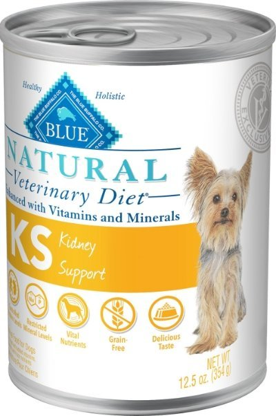 Blue Buffalo Natural Veterinary Diet KS Kidney Support Canned
