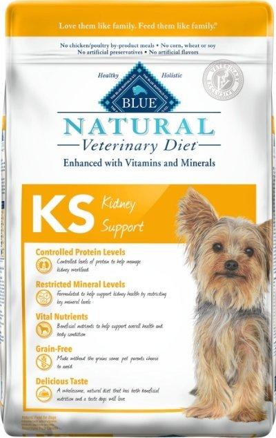 Blue Buffalo Natural Veterinary Diet KS Kidney Support
