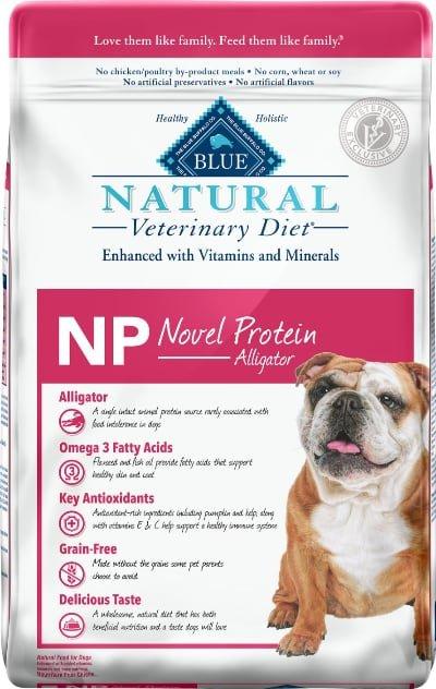 Blue Buffalo Natural Veterinary Diet NP Novel Protein Alligator