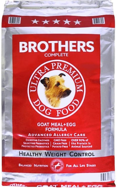 Brothers Complete Goat Meal & Egg Advanced Allergy Care