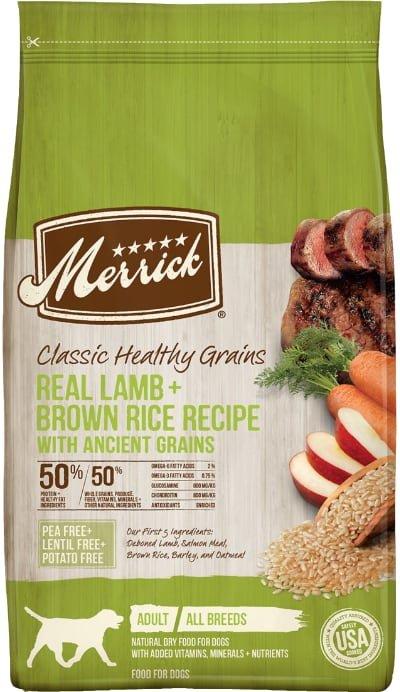 Merrick Classic Healthy Grains Lamb + Brown Rice