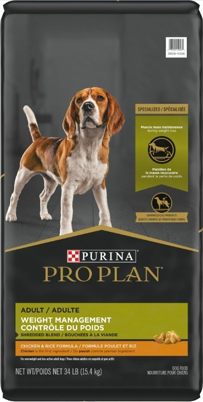 Purina Pro Plan Adult Weight Management Shredded Blend Chicken