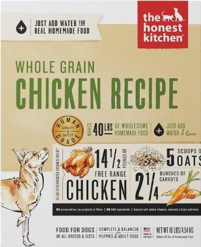 The Honest Kitchen Whole Grain Dehydrated Chicken