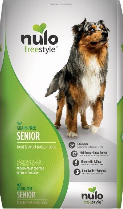 Nulo Freestyle Senior Grain-Free Trout