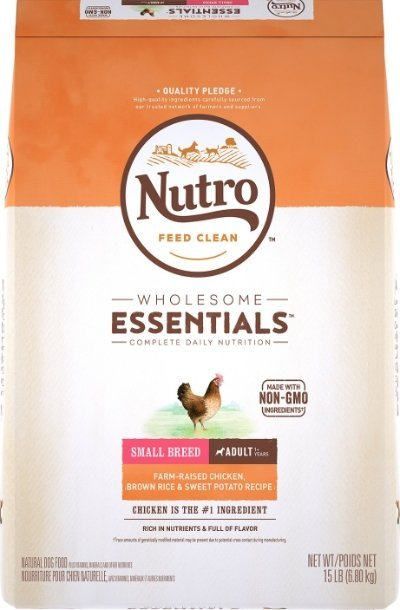 Nutro Wholesome Essentials Small Breed Adult Chicken