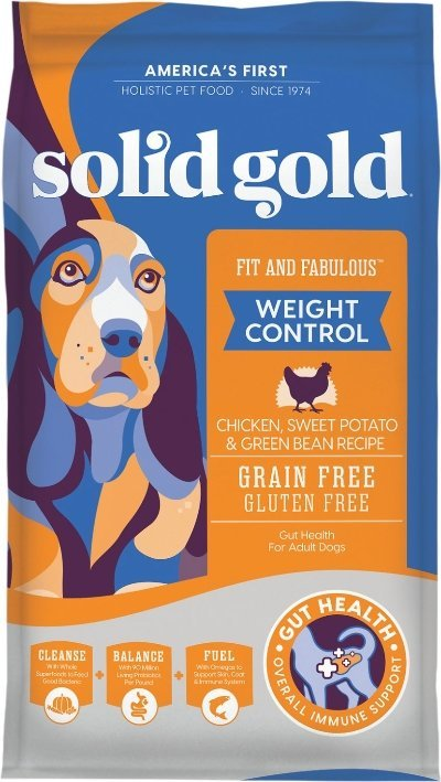 Solid Gold Fit & Fabulous Weight Control Grain-Free Chicken