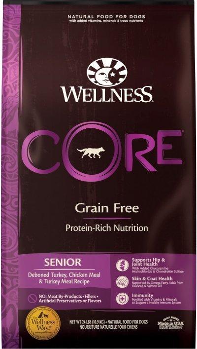 Wellness CORE Grain-Free Senior Deboned Turkey