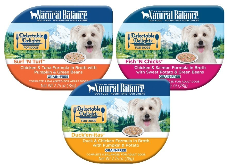 Natural Balance Delectable Delights