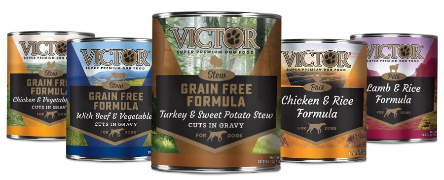 Victor Canned Food