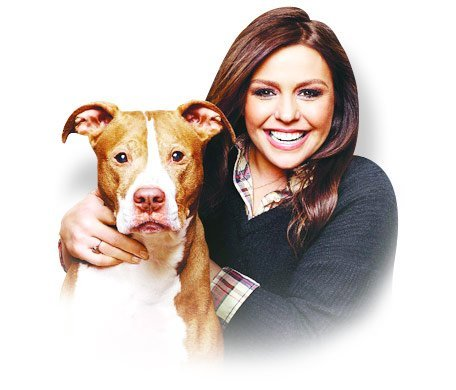 rachael ray with pup