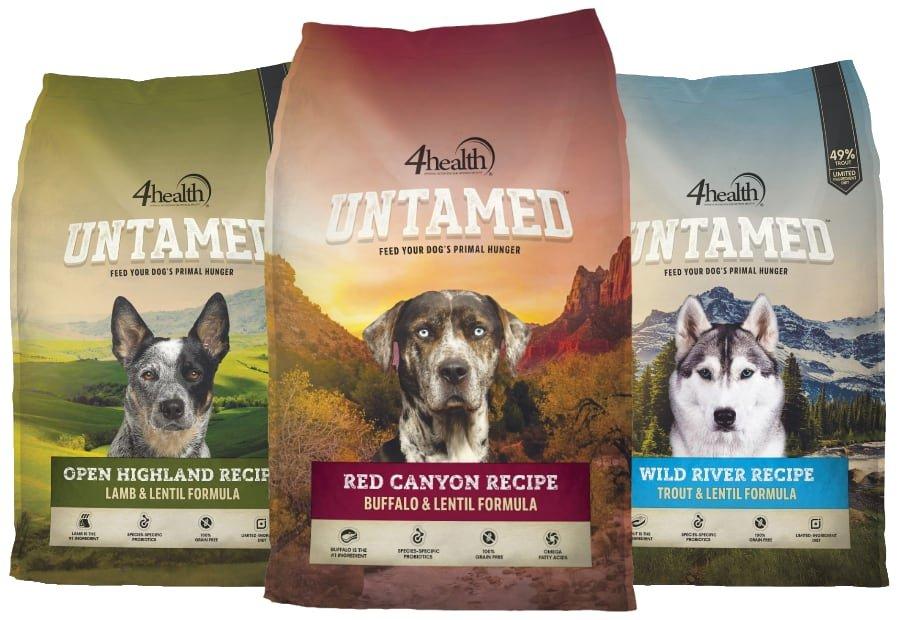 4Health Untamed Dog Food