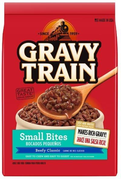 Gravy Train Small Bites Beefy Classic