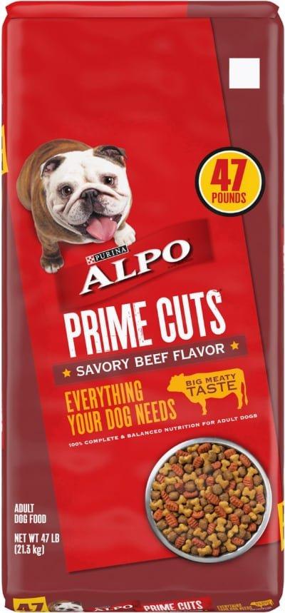 ALPO Prime Cuts Savory Beef