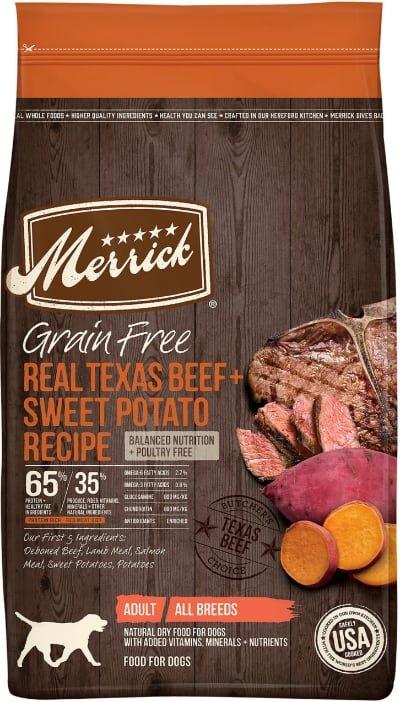 Merrick Real Texas Beef + Sweet Potato