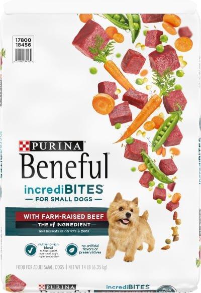 Purina Beneful IncrediBites Small Dogs Beef