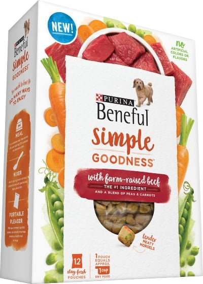 Purina Beneful Simple Goodness Beef