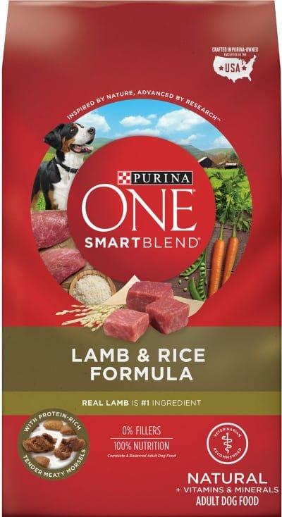 Purina ONE SmartBlend Lamb Rice