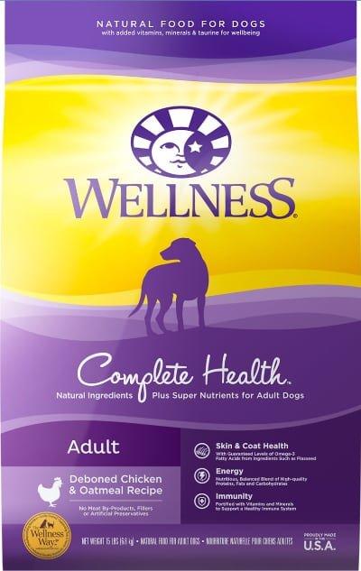 Wellness Complete Health Adult Deboned Chicken & Oatmeal