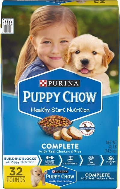 Puppy Chow Complete Chicken Food
