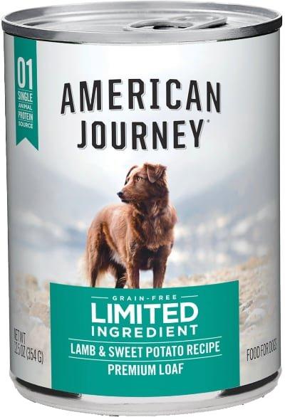 American Journey Limited Ingredient Diet Lamb & Sweet Potato Recipe Grain-Free Canned
