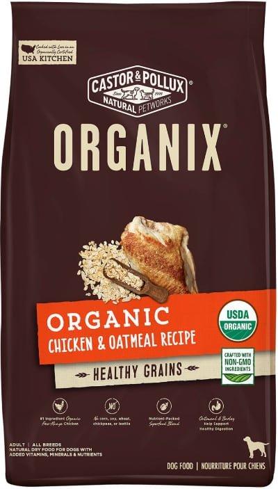 Castor & Pollux ORGANIX Organic Chicken & Oatmeal