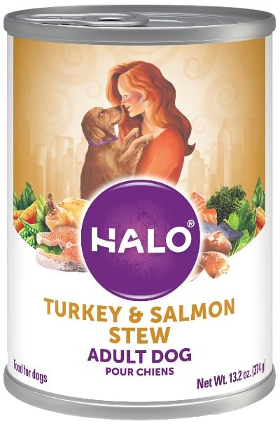 Halo Holistic Turkey Salmon Recipe Adult Canned