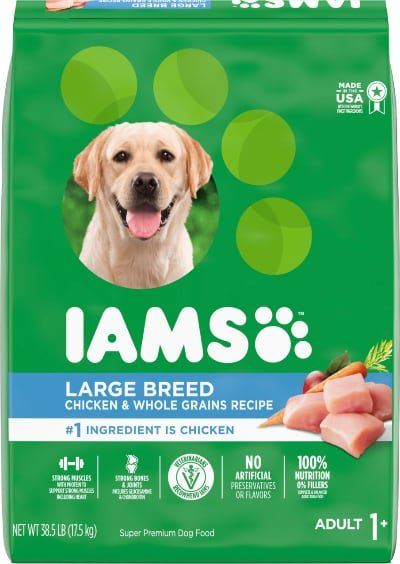 Iams Adult Large Breed Real Chicken High Protein