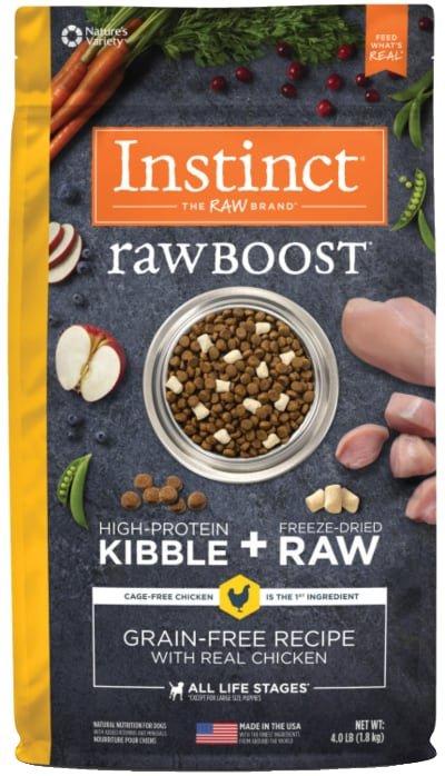 Instinct Raw Boost Grain-Free Chicken Freeze Dried Raw