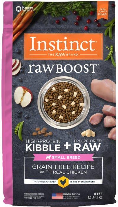 Instinct Raw Boost Small Breed Grain Free Chicken Freeze Dried