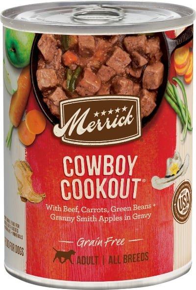 Merrick Grain Free Wet Cowboy Cookout