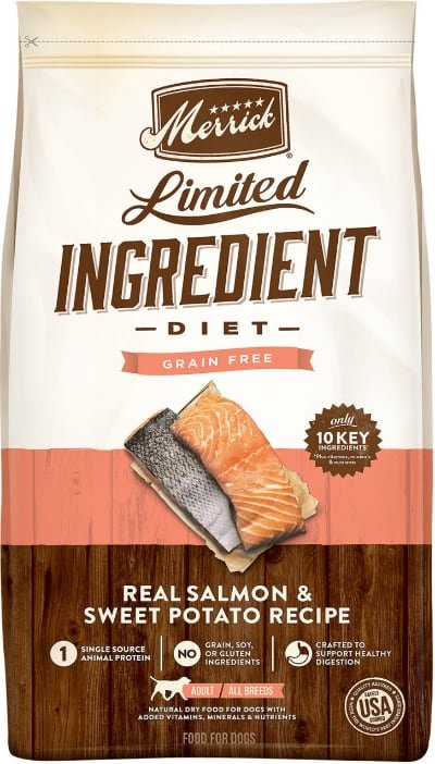 Merrick LID Grain Free Real Salmon Sweet Potato